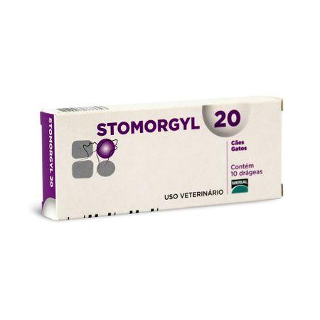 Antibiótico Stomorgyl 20 Boehringer Para Cães e Gatos 10 Comprimidos