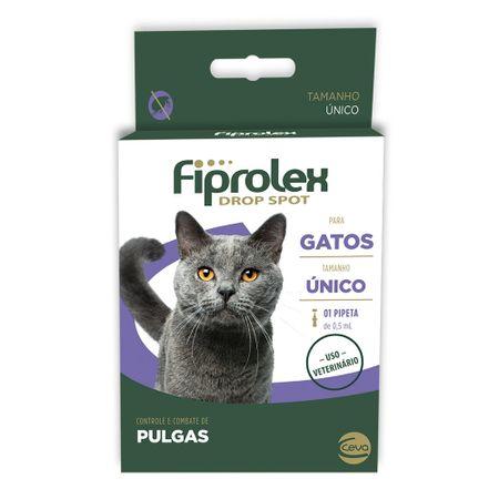Antipulgas e Carrapatos Ceva Fiprolex Drop Spot para Gatos