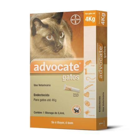 Antipulgas Bayer Advocate para Gatos ate 4 Kg
