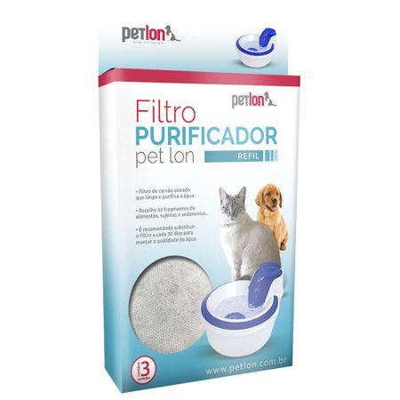 Refil de Filtro Purificador Para Fonte Bebedouro PetLon