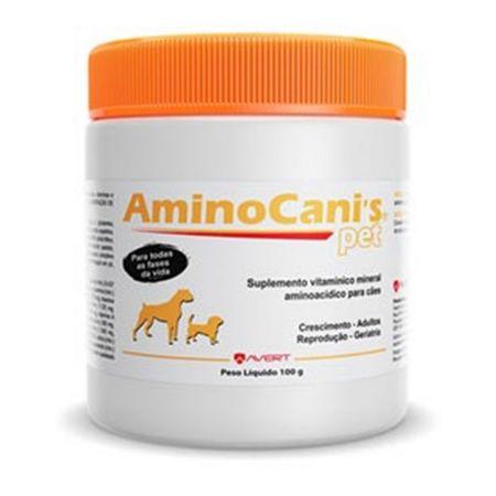 Suplemento em Pó para Cães Avert AminoCani's Pet 100g