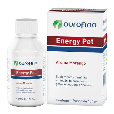 Suplemento Energy Pet Ourofino para Cães e Gatos 125ml