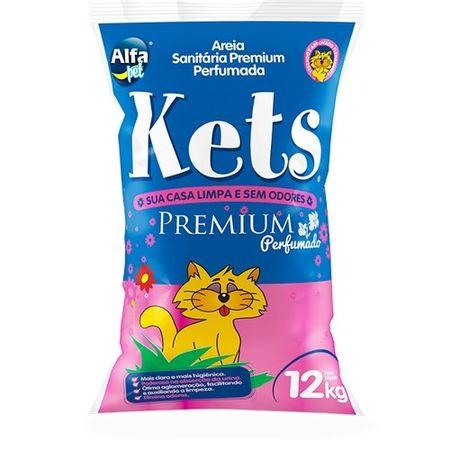 Areia para Gato Kets Premium Perfumada