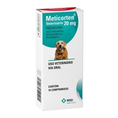Anti-Inflamatório MSD Meticorten 10 Comprimidos