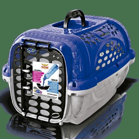 Caixa de Transporte Para Cães e Gatos Panther - Azul