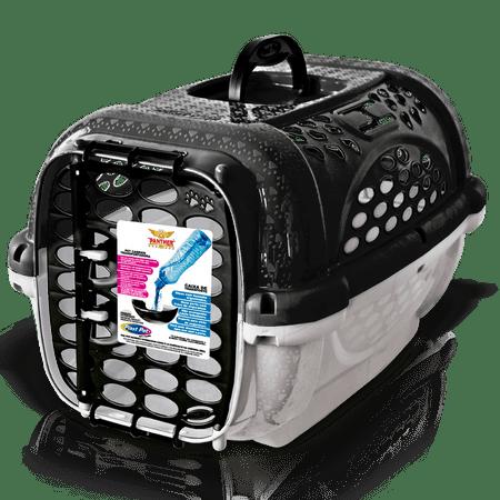 Caixa de Transporte Para Cães e Gatos Panther - Preto