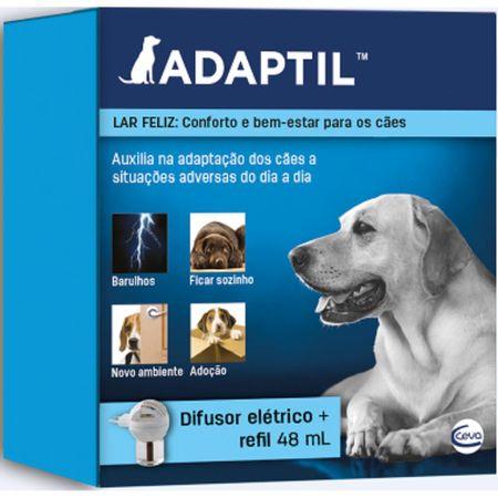 Difusor Elétrico Ceva Adaptil Com Refil para Cães 48ml