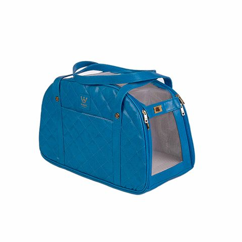transporte-matelasse-azul