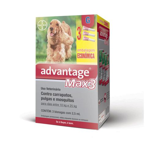 antipulgas-e-carrapatos-bayer-advantage-max3-para-caes-de-10-a-25-kg-combo-7891106911269-pet-luni