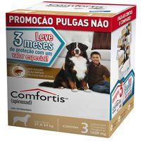 Kit-com-3-Antipulgas-Comfortis-Elanco-1620-mg-para-Caes
