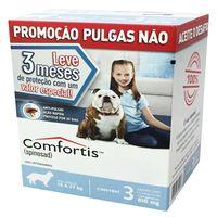 Kit-com-3-Antipulgas-Comfortis-Elanco-810-mg-para-Caes