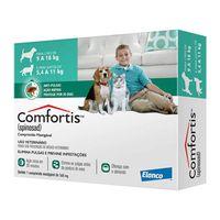 Antipulgas-Comfortis-Elanco-560-mg-para-Caes-de-9-a-18-Kg-e-Gatos-de-55-a-11-Kg