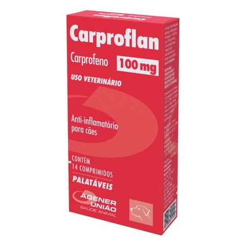 Anti-inflamatorio-Carproflan-Agener-100mg-14-Comprimidos-7896006210160-pet-luni