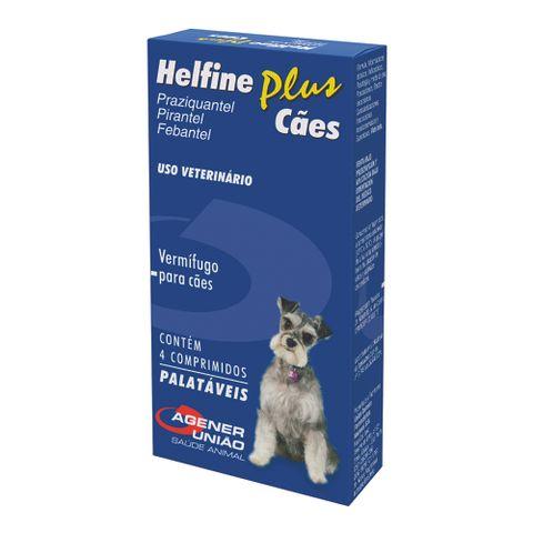 Vermifugo-Helfine-Plus-Agener-Pet-Para-Caes-4-Comprimidos-7896006236467-pet-luni