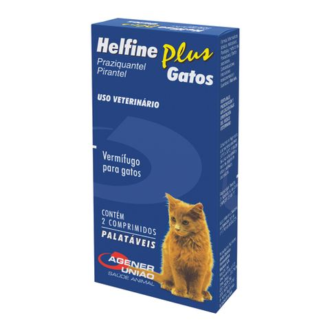 Vermifugo-Helfine-Plus-Agener-Pet-Para-Gatos-2-Comprimidos-7896006240235-pet-luni