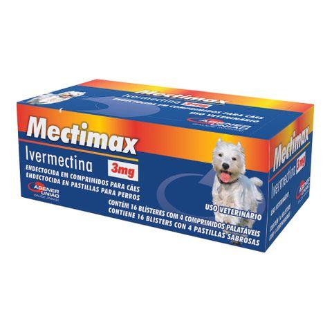 Antiparasitario-Mectimax-Agener-Pet-3mg-64-Comprimidos-7896006201670-pet-luni