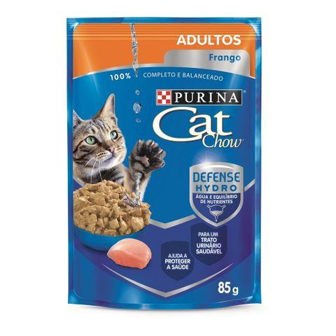 Sache-Purina-CAT-CHOW-Frango-ao-Molho-Para-Gatos-Adultos-8-5g-7891000244074-pet-luni