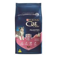 Racao-Purina-CAT-CHOW-Frango-e-Leite-Para-Gatos-Filhotes-1kg-7891000247969-pet-luni
