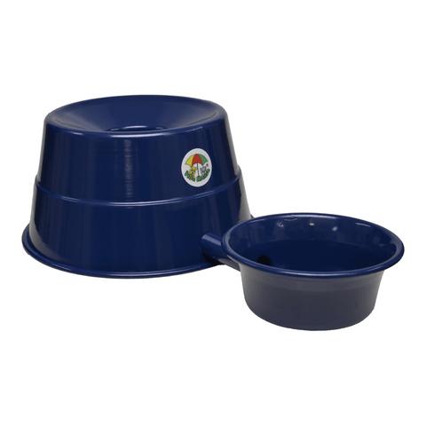 Bebedouro-para-Raþas-Grandes-em-Aluminio-Vida-Mansa-Azul