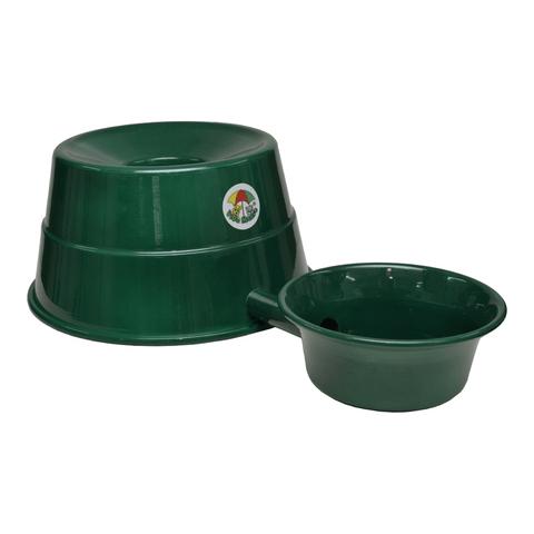 Bebedouro-para-Raþas-Grandes-em-Aluminio-Vida-Mansa-Verde