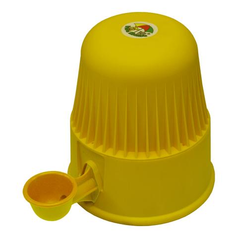Bebedouro-para-Caes-em-Polipropileno-Vida-Mansa-Amarelo