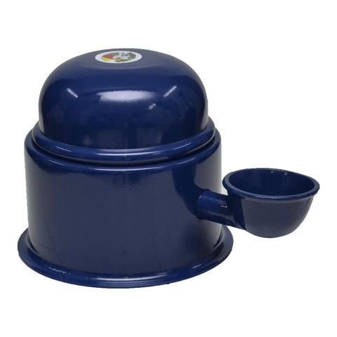 Bebedouro-para-Caes-em-Aluminio-Vida-Mansa-Azul-0-7L