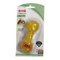 Brinquedo-para-Cachorros-Ate-7kg-Odontopet-Flexibone-Amarelo-pet-luni