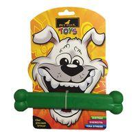 Brinquedo-para-Cachorros-Pet-Flex-Toys-Osso-Verde-pet-luni