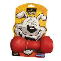 Brinquedo-para-Cachorros-Pet-Flex-Toys-Osso-Vermelho-pet-luni