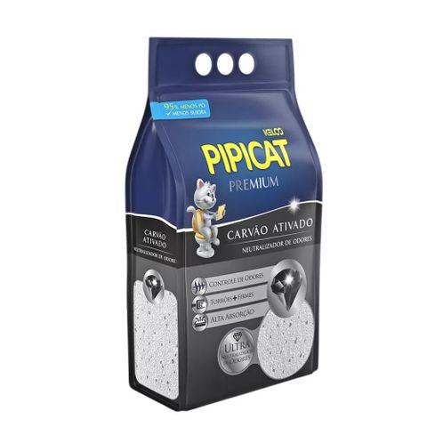 Areia-Higienica-para-Gatos-Pipicat-Premium-Carvao-Ativado-4kg