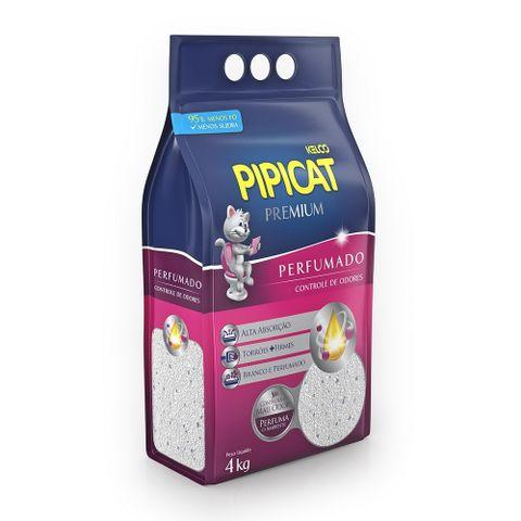 Areia-Higienica-para-Gatos-Pipicat-Premium-Perfumado-4kg
