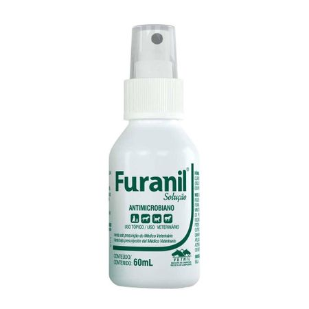Antimicrobiano Furanil Solucao Vetnil 60ml