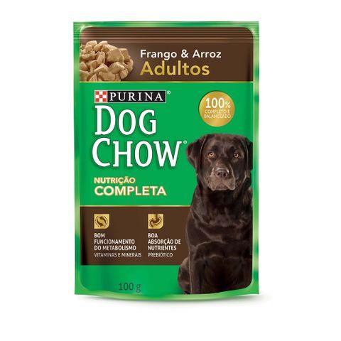 Sache-DOG-CHOW-Frango-e-Arroz-Para-Caes-Adultos-100g-7891000244388-pet-luni
