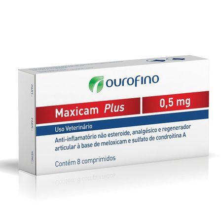 Anti-inflamatório Analgésico Maxicam  Plus Ourofino para Cães e Gatos 0,5mg