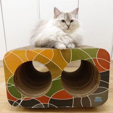 Arranhador-para-Gatos-em-Papelao-Pet-Games-Cat-Box-Dual-Marrom-7898947774282-pet-luni