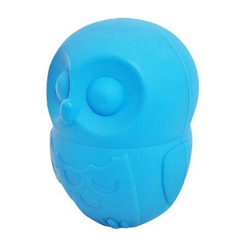 Brinquedo-Porta-Petiscos-Pet-Games-Corujinha-Pequena-Azul-7898615851567-pet-luni