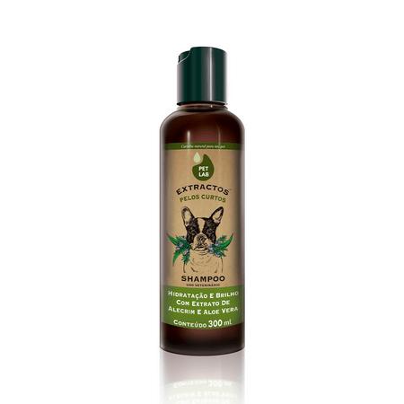 Shampoo Para Cães de Pelos Curtos Alecrim e Aloe Vera Pet Lab Extractos