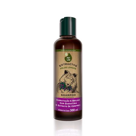 Shampoo Para Cães de Pelos Longos Confrei Pet Lab Extractos