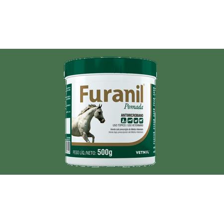 Antimicrobiano Furanil Pomada Vetnil - 500g