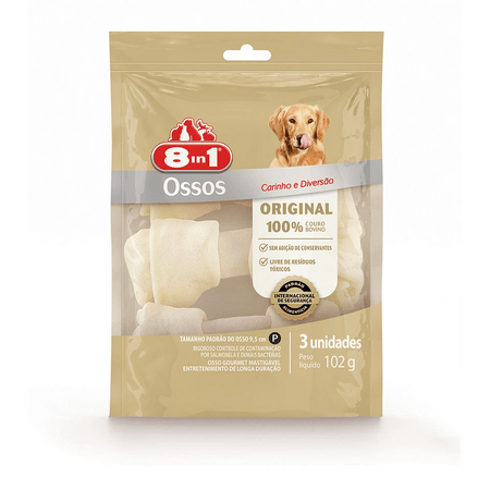 Osso para Cães 8in1 - 3 Unidades